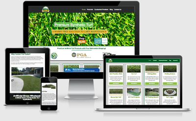 custom turf outlet website