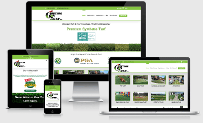 custom turf website